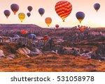 beautiful vibrant colorful... | Shutterstock . vector #531058978