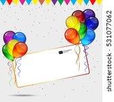 birthday party vector... | Shutterstock .eps vector #531077062