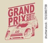 grand prix racing motorcycle... | Shutterstock .eps vector #531080758