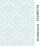 damask beautiful background... | Shutterstock .eps vector #531085756