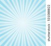 abstract light blue rays... | Shutterstock .eps vector #531088822