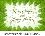 christmas theme with holiday... | Shutterstock . vector #531123562