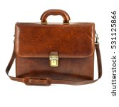 Brown Elegant  Modern Leather...