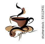 coffee sign  also available... | Shutterstock .eps vector #53112931