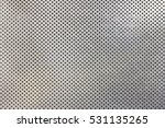 stainless steel punched metal... | Shutterstock . vector #531135265