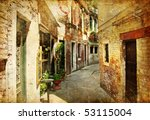Venetian Streets    Artwork In...