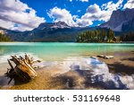 the concept of eco tourism and... | Shutterstock . vector #531169648