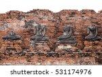 ancient buddha at wat