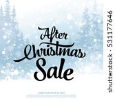 after christmas sale banner | Shutterstock .eps vector #531177646