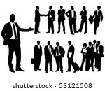 business people | Shutterstock .eps vector #53121508