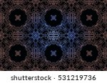 pattern in rococo style