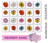 memory game for preschool... | Shutterstock .eps vector #531224476