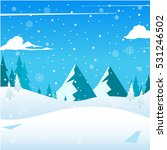 nice detail square merry... | Shutterstock .eps vector #531246502