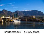 victoria and alfred waterfront... | Shutterstock . vector #531275026