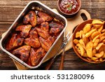Chicken Wings With Baked...