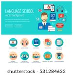 web design concept for website... | Shutterstock .eps vector #531284632