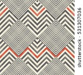 abstract  striped geometric... | Shutterstock .eps vector #531307036