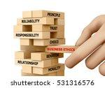 businessman building business... | Shutterstock . vector #531316576