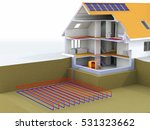 geothermal power house with