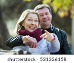 portrait of senior couple... | Shutterstock . vector #531326158