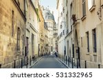 street in paris  france | Shutterstock . vector #531332965