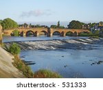 River Nith At Dumfries ...