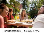 leisure  holidays  eating ... | Shutterstock . vector #531334792