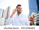 people  technology and... | Shutterstock . vector #531336682