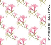 elegant seamless pattern with... | Shutterstock .eps vector #531354922