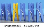 colorful wooden clothespin  ... | Shutterstock . vector #531360445