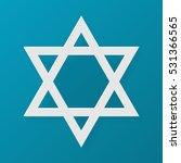 star of david. judaism symbol.... | Shutterstock . vector #531366565