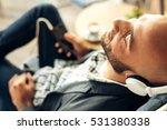businessman on a coffee break... | Shutterstock . vector #531380338
