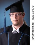 young man after his graduation | Shutterstock . vector #53138479