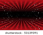 Red Vector Striped Background