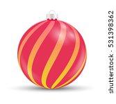 vector christmas bauble | Shutterstock .eps vector #531398362