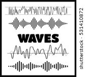 sound waves concept. sound... | Shutterstock .eps vector #531410872