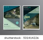 business template for brochure  ... | Shutterstock .eps vector #531414226