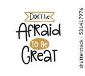 vector poster with phrase decor ... | Shutterstock .eps vector #531417976