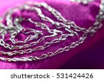 macro view of cloth with... | Shutterstock . vector #531424426
