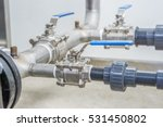 Stainless Ball Valves In Pipes...
