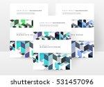 geometric background template... | Shutterstock .eps vector #531457096