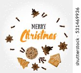 merry christmas  holiday... | Shutterstock .eps vector #531469936
