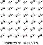 animal footprints   frog | Shutterstock .eps vector #531472126