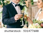 stylish wedding couple clang...   Shutterstock . vector #531477688
