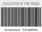 wheel or tire  tyre treads or... | Shutterstock .eps vector #531480856