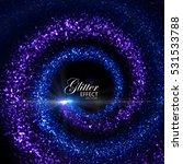 Magic Glowing Trails Of...
