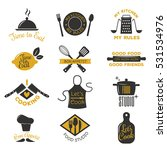 cooking badge vector... | Shutterstock .eps vector #531534976
