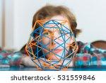 colored three dimensional model ... | Shutterstock . vector #531559846