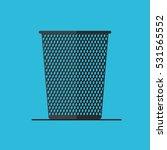 empty trash can | Shutterstock .eps vector #531565552