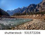 tista river flowing through the ...   Shutterstock . vector #531572206